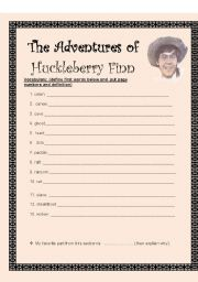 The Adventures of Huckleberryy Finn