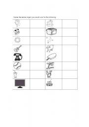 English Worksheets: Sense organs