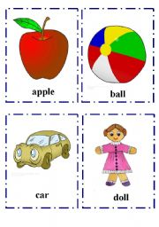 English Worksheet: My Alphabet Flash-cards part 1