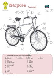 The Bicycle Worksheets
