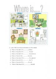 prepositions where is...
