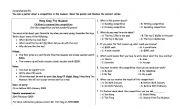 English Worksheets: comprehension