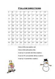 math worksheet : english teaching worksheets following directions : Following Directions Worksheets Kindergarten