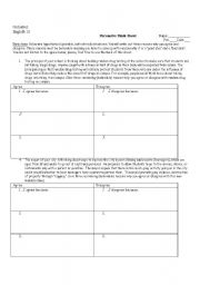 English Worksheet: Persuasive Topics
