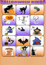 HALLOWEEN BINGO PART 2
