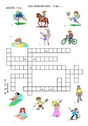 English Worksheets: xwords