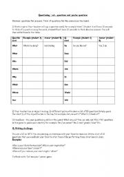 English Worksheets: Questions for answers