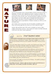 Indians  6/6 - Nature , Chief Seattle´s letter (part)