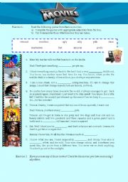 English Worksheets: Funny Movie Quotes