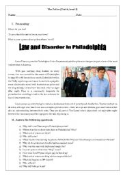 Law and Disorder in philadelphia