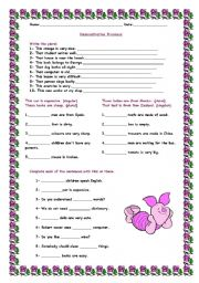 English Worksheet: Demonstrative Pronouns - Exercises 3