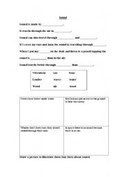 English Worksheets: Sounds