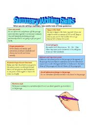 Summary Writing - Lessons - Tes Teach