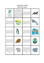 English Worksheets: SNAP ANIMALS MEMORY