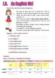 English Worksheets: How to build questions?