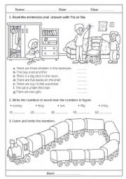 english test - ESL worksheet by chiaretta