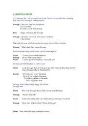 Short Christmas Play.Christmas Play Scripts Worksheets