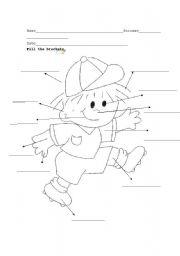 English Worksheets: body_boy
