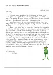 Dear Diary Template English Teaching Worksheets A