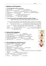 Adverb/Adjective/Comparison + solution