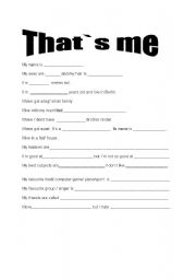 All About Me Worksheet For Adults English \x3cb\x3eworksheets\x3c/b ...