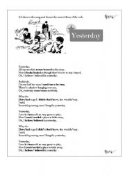 Song. yesterday from The beatles