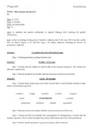 English Worksheet: She�s not just a pretty face by Shania Twain.