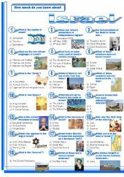Israel-Quiz