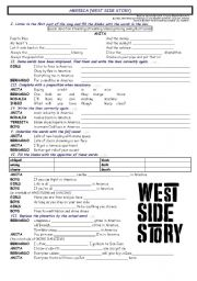 America, West Side Story