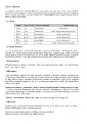 English Worksheets: There is, ttere are