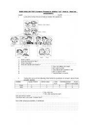 English Worksheets: Basic English Text