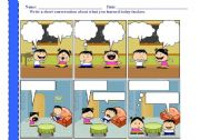 English Worksheets: cartoon