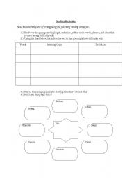 English worksheets: reading worksheets, page 297