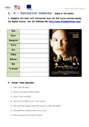How to write an essay on the movie Freedom Writers?
