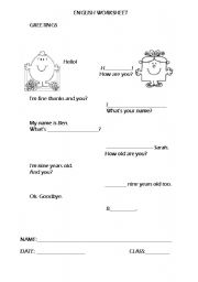 Printables Spanish Greetings Worksheet english teaching worksheets greetings greetingspersonal id
