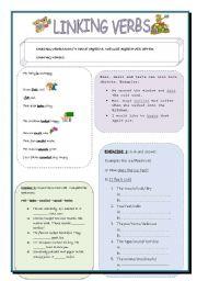 Grammar worksheets > Verbs > Linking verbs