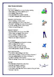 Verb Tenses Revision