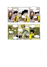 English Worksheets: Blank Penny Arcade Comics Part 2