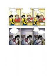 English Worksheets: Blank Penny Arcade Comics Part 3