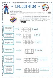 Printables Calculator Worksheets english worksheet calculator