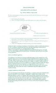 English Worksheet: SUMMARIZING SKILL WORKSHOP