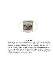 English Worksheets: Little ben