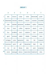 English Worksheets: Cross them out