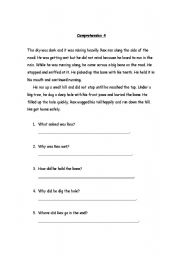 Worksheets Comprehension Passages For Grade 2 english worksheets comprehension passages with questions for grade 2 worksheet 2