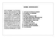 English worksheet: IDIOMS WORDSEACH
