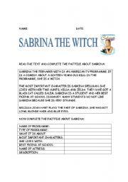 English Worksheets: tv: Sabrina