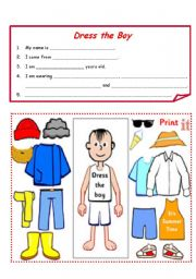 English Worksheets: Craft and writing