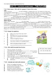 NEW HEADWAY ELEMENTARY, revision exercises
