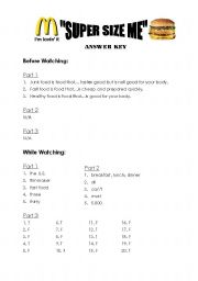 Printables Supersize Me Worksheet Answers super size me worksheet answer key workheet n 282795 english key
