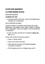 English Worksheets: A Storm Named Oliv ia